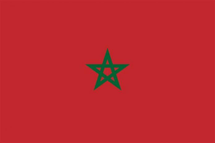 Morocco flag Maroka