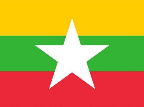 Myanmar flag Mjanmara