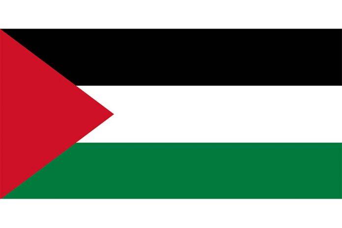 Palestine flag zastava države Palestine