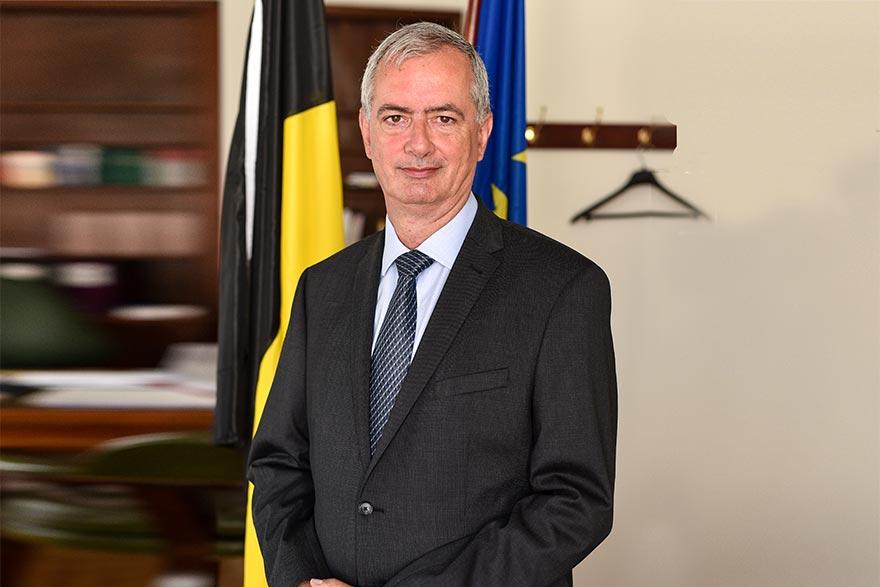 Koenraad Adam Ambassador of Belgium to Serbia