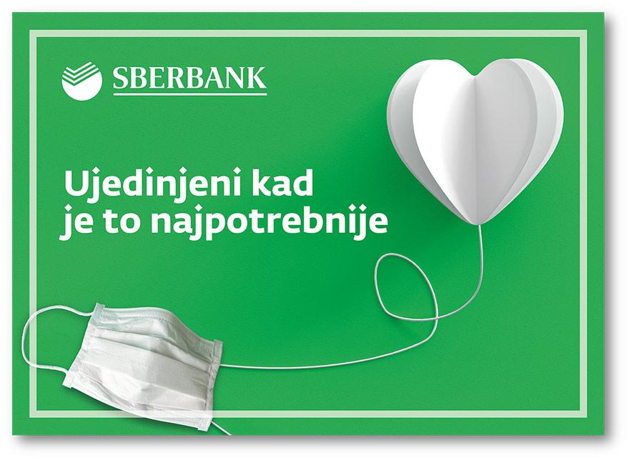 Sberbank donates covid-19