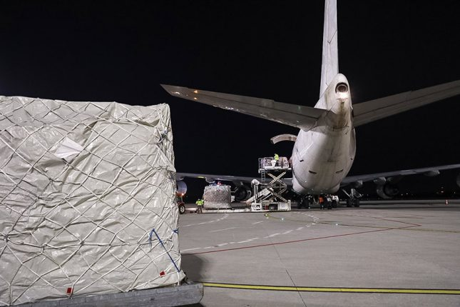 Two More Planes Arrive in Belgrade – Equipment Purchased by Serbia and Transport Paid by EU coronavirus covid19 serbia