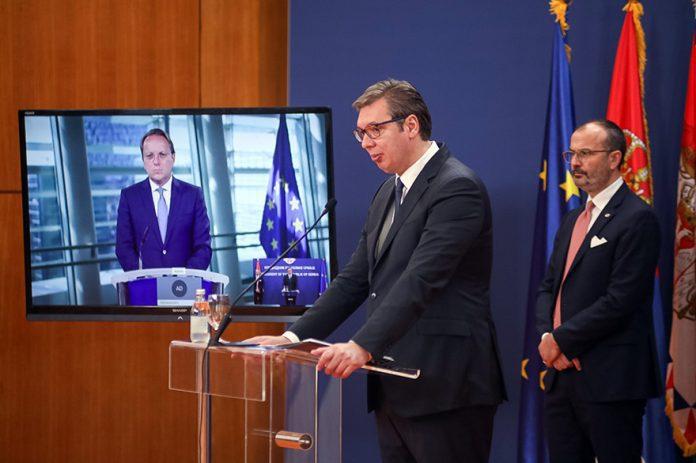 70 miliona evra bespovratne pomoći Srbiji od Evropske unije Vucic Fabrici Oliver