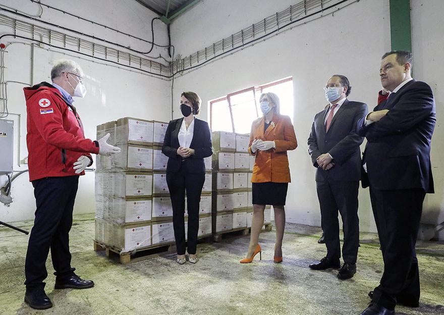 Austria Donates Funds To Serbia To Fight COVID-19 Karoline Edtstadler