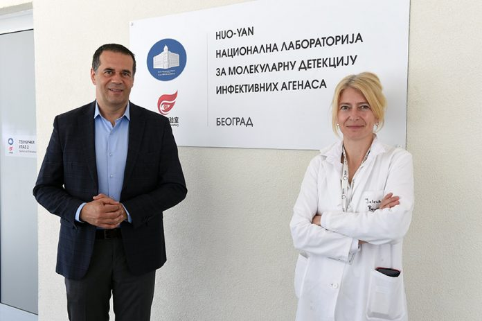 Generali donates 12m rsd to Vatreno oko laboratory and health system in Serbia Dragan Filipovic