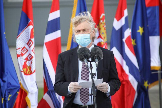 Jorn Gjelstadt, Ambassador of Norway
