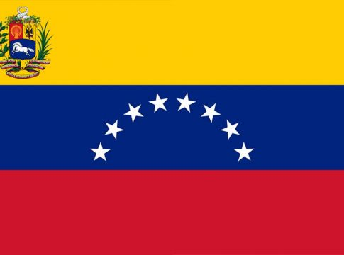 Embassy Of The Bolivarian Republic Of Venezuela flag Venecuele