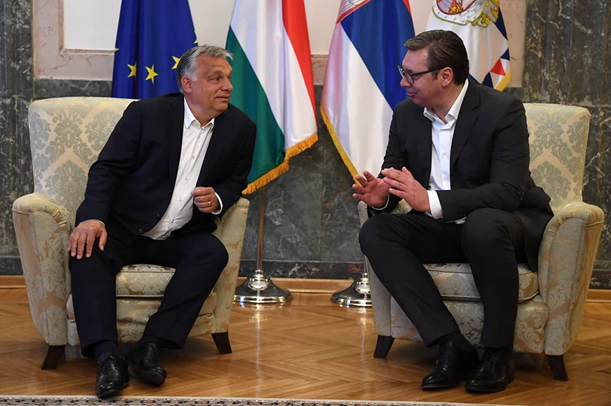 Prime Minister of Hungary Viktor Orbán Visits Serbia