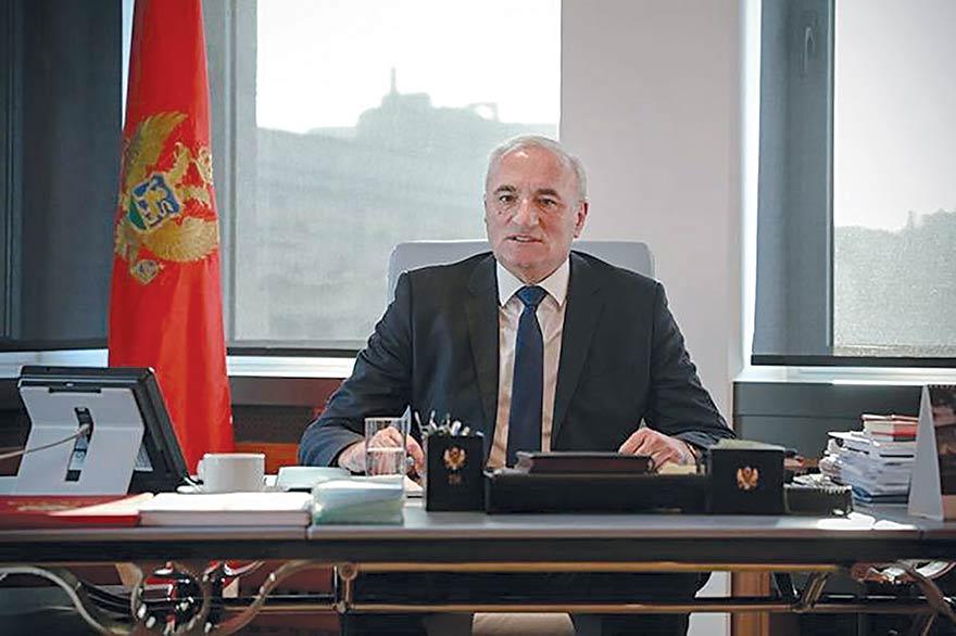 Tarzan Milošević Ambassador of Montenegro