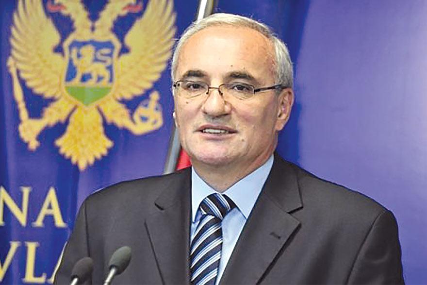 Tarzan Milošević Ambassador of Montenegro to Serbia