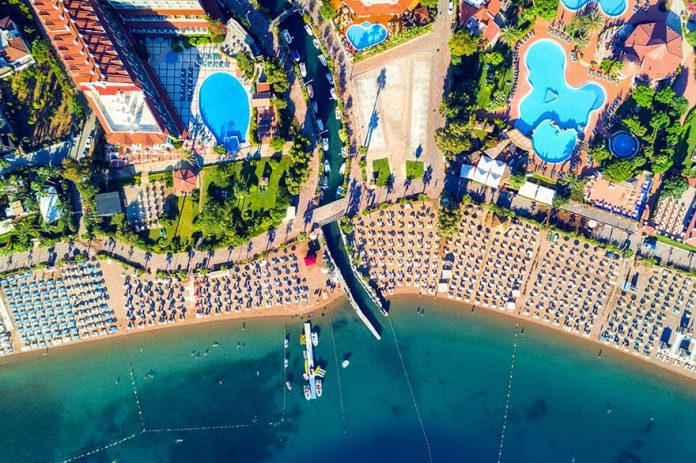 Turkey coast sea summer