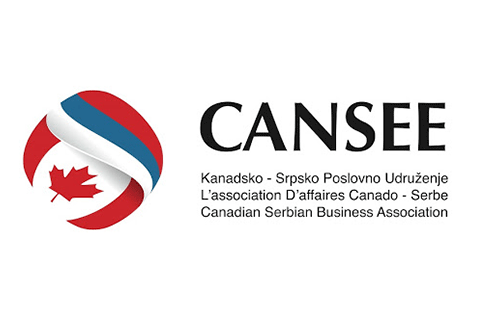 CANSEE Canadian-Serbian Business Association logo