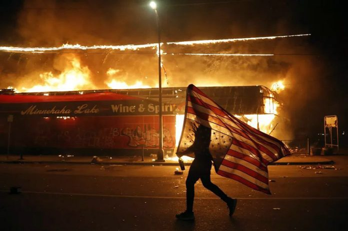 16 US Cities Call In National Guard As Protests Rage