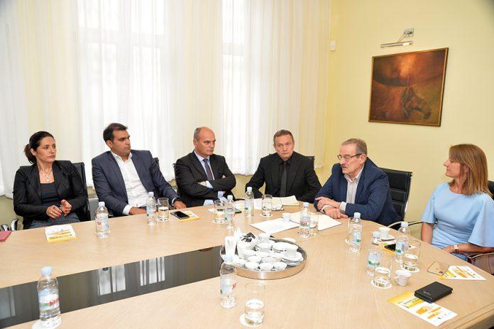 Ambassador Of Croatia Hidajet Biscevic Meets Members Of The Croatian Business Club