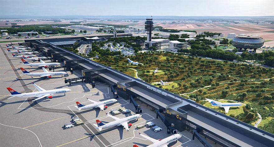 Modernisation Of The Belgrade Nikola Tesla Airport Continues