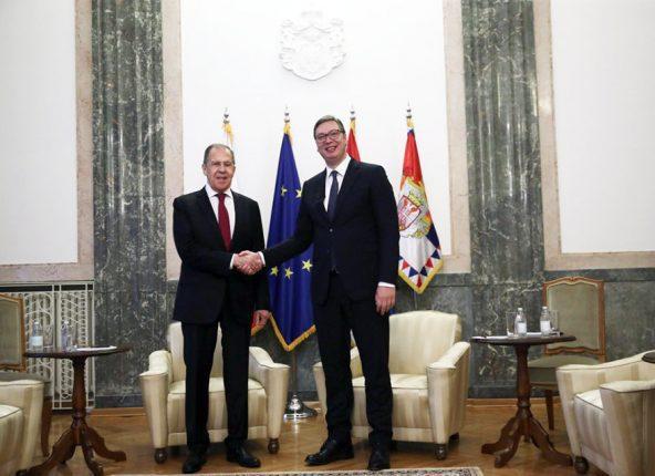 Vucic Lavrov