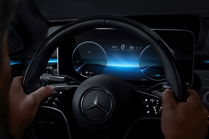 Meet The Mercedes-Benz S-Class DIGITAL: