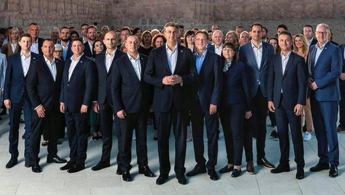 Andrej Plenković Croatia's Ruling Conservatives Win Parliamentary Election
