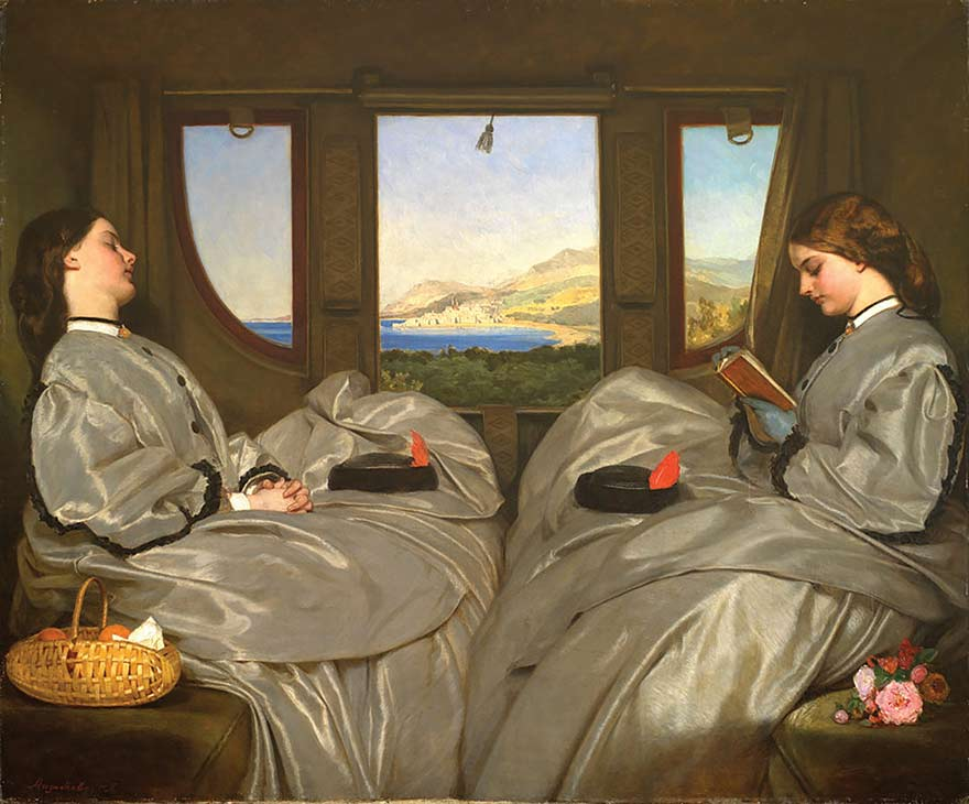 AUGUSTUS LEOPOLD EGG, THE TRAVELLING COMPANIONS, 1862