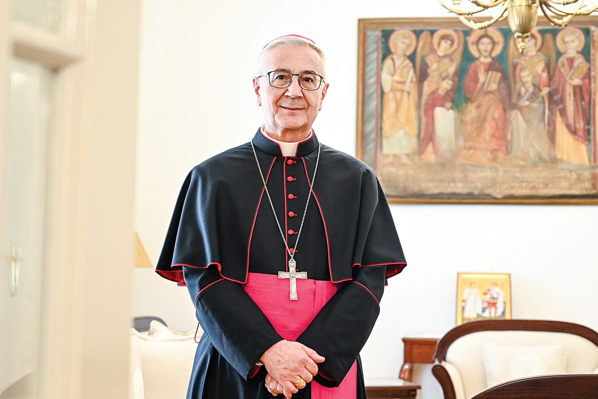 Archbishop Luciano Suriani Apostolic