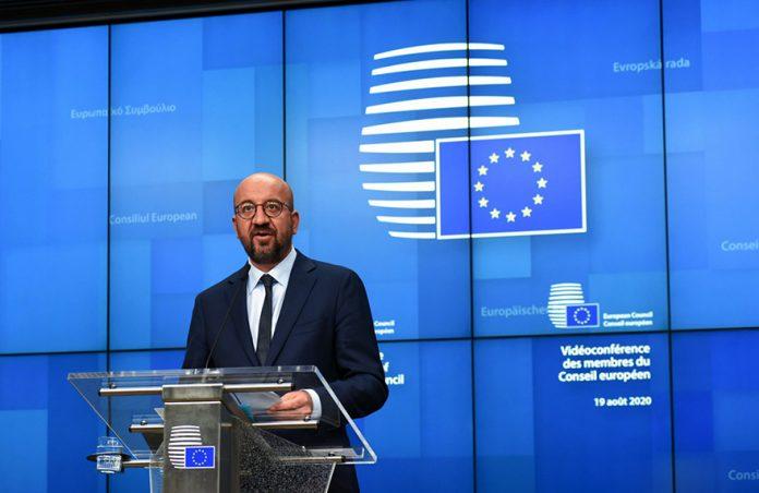 Carls Misel EU Ne priznaje rezultate izbora u Belorusiji Michel