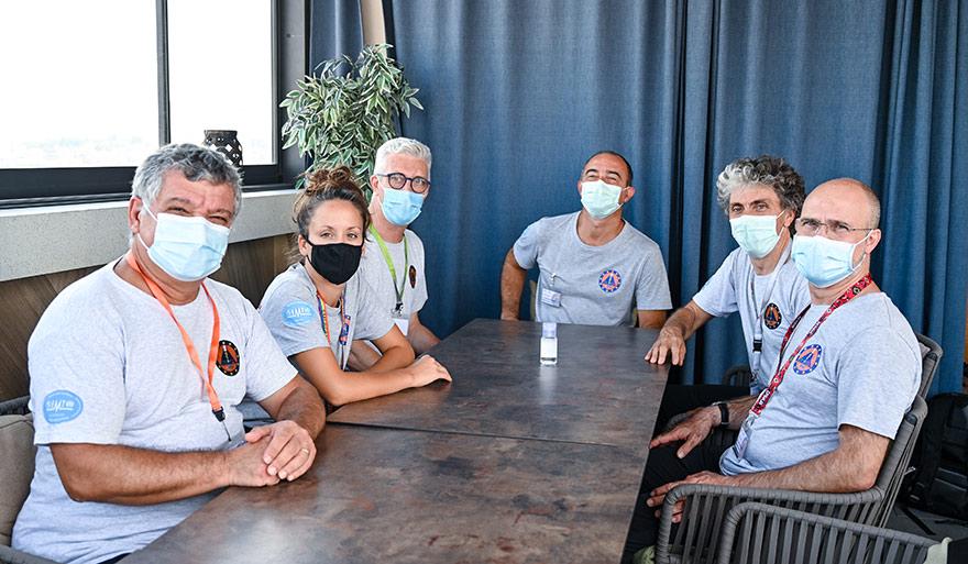 italijanski medicinski tim