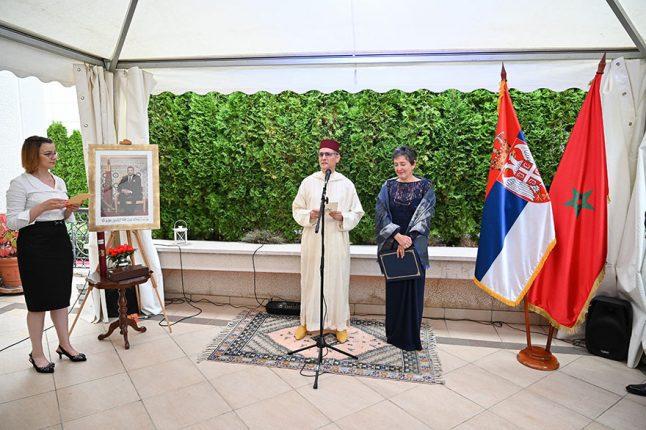 Mohammed Amine Belhaj Sladjana Prica Tavciovska