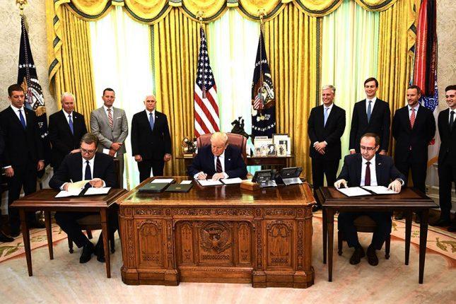 Serbia Kosovo agreement