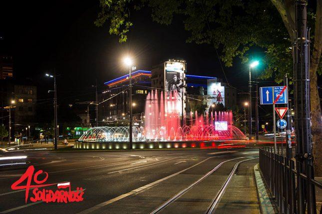 Simboli-Beograda-u-bojama-poljske-zastave-u-čast-godišnjice-1