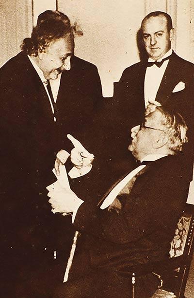 Mihailo Pupin and Albert Einstein