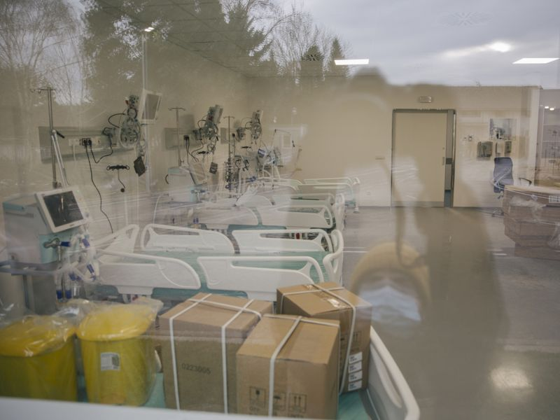 kovid bolnica u batajnici 11