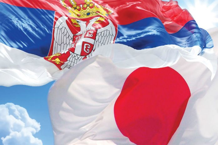 Japan and Serbia