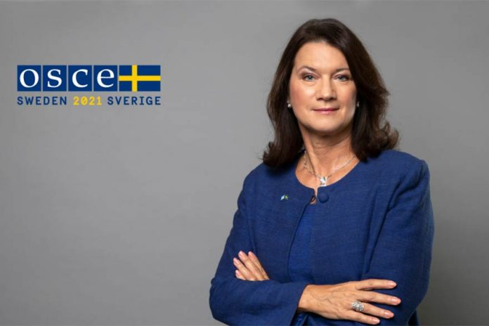 Sweden takes over OSCE Chair